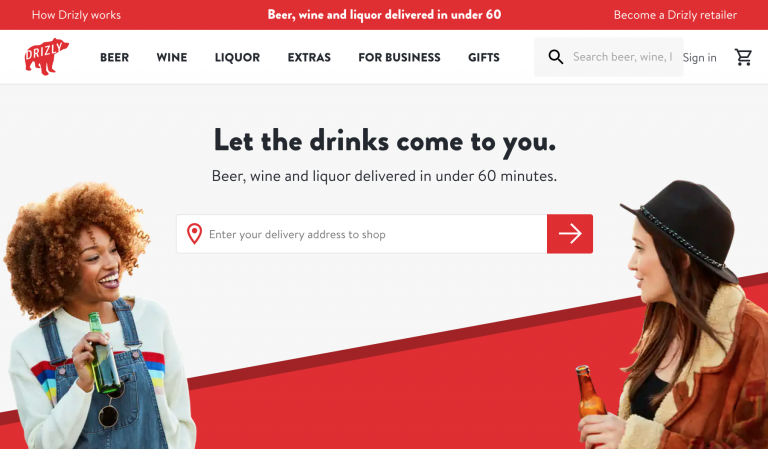 Drizly Order Alcohol Online