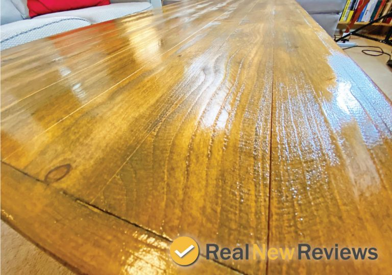 Emerald Home Mid Century Modern Coffee Table Pine Wood Finish Brown Color Top