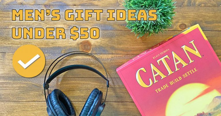 Great Men's Gift Ideas Under $50