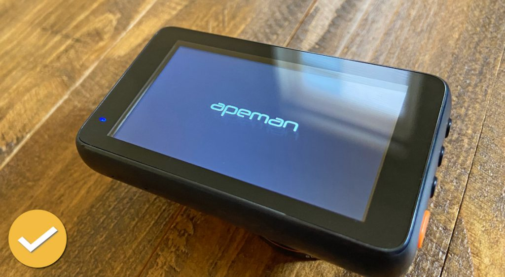 Apeman Dash Cam IPS Screen