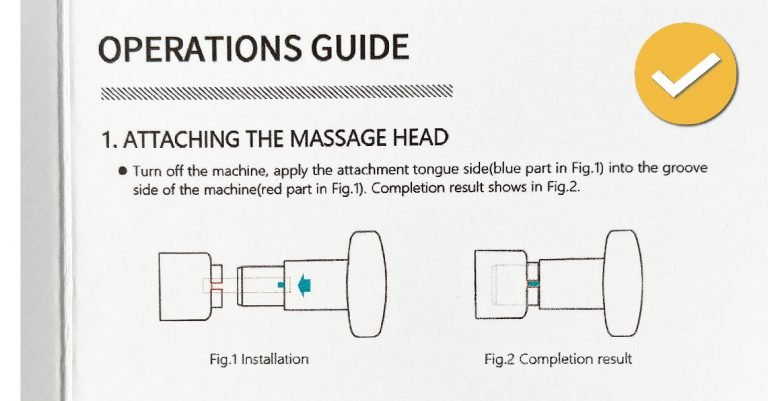 Vybe Pro How to Change Massage Head Attachments