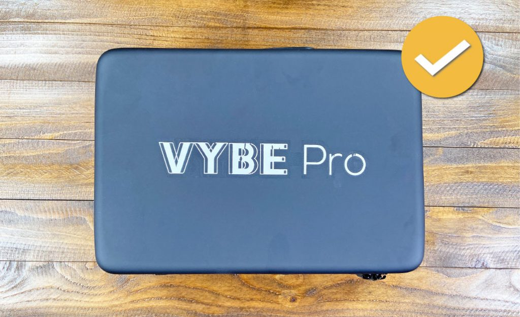 Vybe Pro Massage Gun Carrying Case